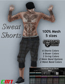 CuteBomb Sweat Shorts With Hud*attach & accept*