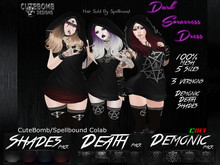 CuteBomb/Spellbound Dark Sorceress Dress DEMO