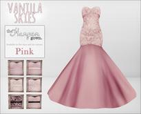 vanilla skies; harper gown - pink.