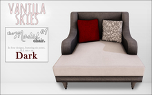 vanilla skies; model chair #1 - dark
