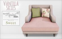vanilla skies; model chair #1 - sweet