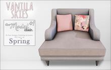 vanilla skies; model chair #1 - spring