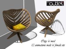 CO Mica Chair (wooden loungechair)