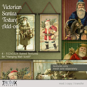 Trowix - Victorian Santa Texture Add-on