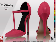 Bens Boutique - Setenay Pumps 2 (SlinkHigh) - FATPACK