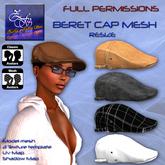 **Full perm-Beret cap mesh-Resize**