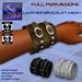 **Full perm-Leather bracelet mesh**