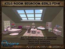 Kids Room Bedroom Girls pink Nursery