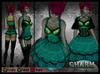 [Wishbox] Charm (Ocean Teal) - EGL Gothic Lolita Goth Victorian Corset Dolly Dress