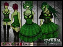 [Wishbox] Charm (Jade Green) - EGL Gothic Goth Victorian Corset Dolly Dress