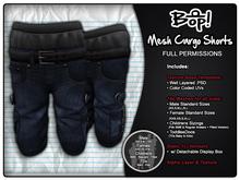 bop! Mesh Cargo Shorts - Full Permissions