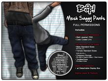 bop! Mesh Saggy Pants - Full Permissions
