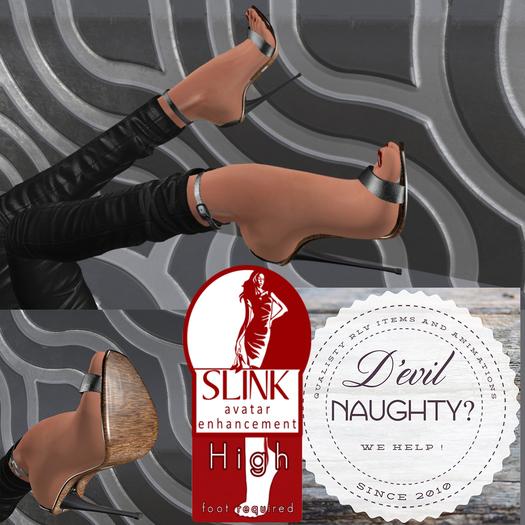[D'eVil] Redneck Heels for SLink High Feet