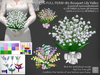 LDG-FULL PERM 185 Bouquet Lily Valley - 9 parts/38 textures/Builderkit