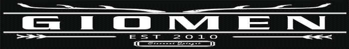 Giomen logo store banner