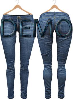 Blueberry Xale - Belleza & Maitreya & Standard Mesh - Boots Friendly & Regular Cut Jeans DEMO