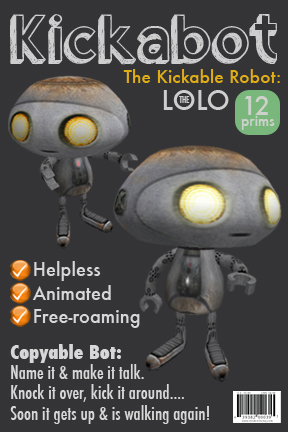 Kick a bot: Free-roaming robot