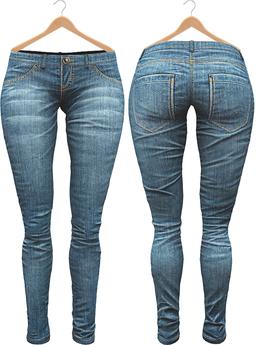 Blueberry Xale - Belleza & Maitreya & Standard Mesh - Boots Friendly & Regular Cut Jeans Ocean