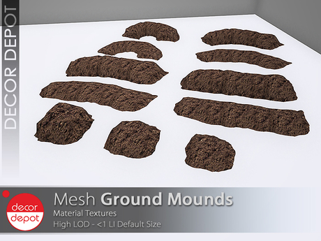 [DD] - FULL PERM  Ground Mounds