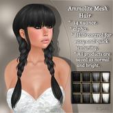 !SOUL - HAIR - Ammolite- 12 Nuances. - Black /White/ Grey Set 1