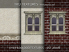 29532: Nov 07 - 12 x Stylised Victorian Interior Exterior House Textures - 512 x 512 Pixels