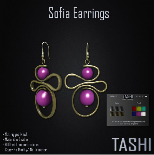 Tashi Sofia Earrings
