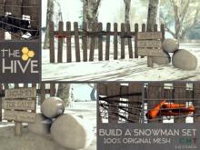 The Hive - Build a Snowman Set