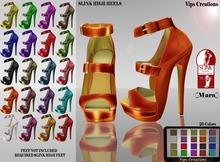 Female High Slink Shoes - Mara-[Hud Option] - Female Slink Shoes - Slink High Shoes*