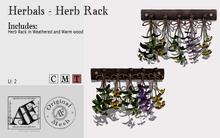 *AF* Herbals - Herb Rack