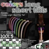 [Naeko] Colors Long Short Tail White