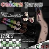 [Naeko] Colors Paws White