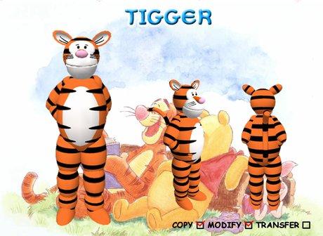 [Antic Cartoon]Tigger Avatar