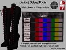 DISCOUNT {Acios} Selene Boots