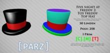 [Parz] FNAF2 Toy Freddy Hat