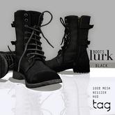 tag. boots lurk [black]