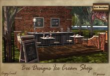 .: Bee Designs:.Ice cream shop- box
