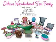 Boudoir -Deluxe Wonderland Tea Party