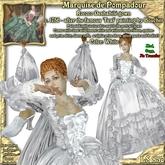 Wunderlich's Marquise de Pompadour White Rococo gown