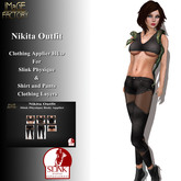 IMaGE Factory Nikita Outfit w/Slink Physique Applier