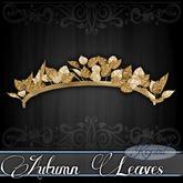 ::: Krystal ::: Autumn Leaves - Tiara - Gold