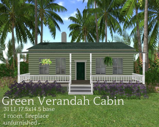 Green Verandah Cabin(31LI, 17.5x14.5)