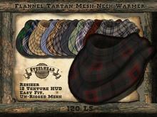 Steelhead Tartan Flannel Neck Warmer [Unisex]