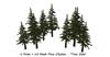 One prim pine mesh cluster set 001