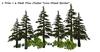 One prim pine mesh cluster set 005