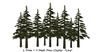One prim pine mesh cluster set 002