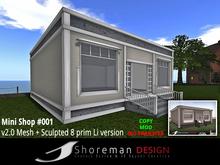 sHouse sHouse Mini Shop #001 v2.0 Mesh + v1.2 Sculpted 8 Li version