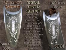 Royal Elven Guard - 3 Shields