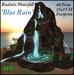Realistic Waterfall Blue Rain
