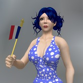 Animated French Flag