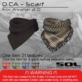 <UTILIZATOR> - O.CA - Scarf (boxed)